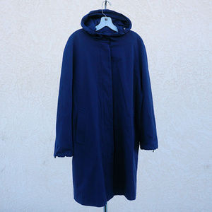 Nice hooded Burberry trench coat EUC size 12